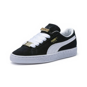 Big Kids Puma Suede Classic B-Boy Fabulous Sneaker In Black White