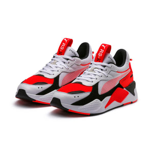 Mens Puma Rs-X Reinvention Sneaker In White Red Blast - Simons Sportswear