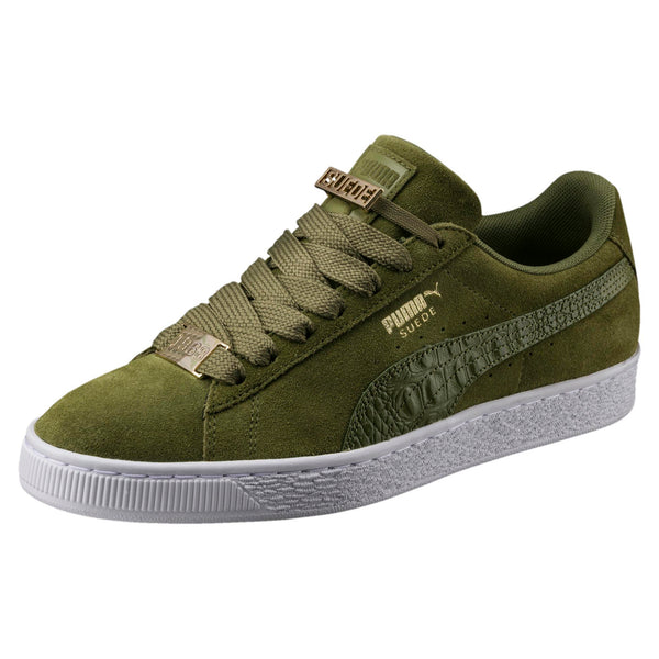 8a36910fcafd8 Mens Puma Suede Classic B-Boy Fabulous Sneaker In Olive Green ...