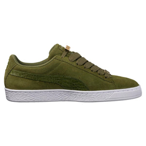 Mens Puma Suede Classic B-Boy Fabulous Sneaker In Olive Green