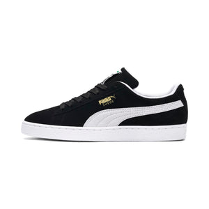 Mens Puma Suede Classic Original Sneaker In Black White