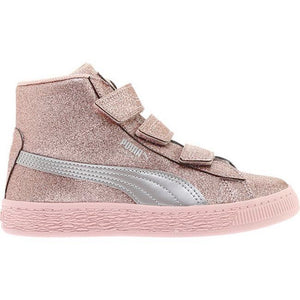 ... Birch Team Gold.  65.00. Quick View · Preschool Kids Puma Basket Mid  Strap Glitz V Shoe In Peach ... ba0628df0