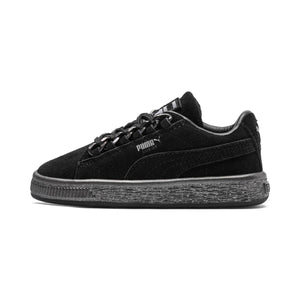 Preschool Kids Puma Suede Classic X Chain Jr Sneaker In Black