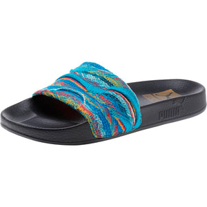 dceceed91b8 Quick View · Womens Puma Leadcat Coogi Flip Flops Sandals In Multi Island  Paradise Black ...