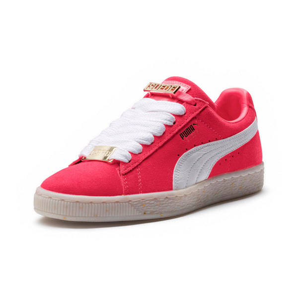 low priced 6c455 23e89 Womens Puma Suede Classic Fabulous B-Boy Sneaker In Paradise Pink White