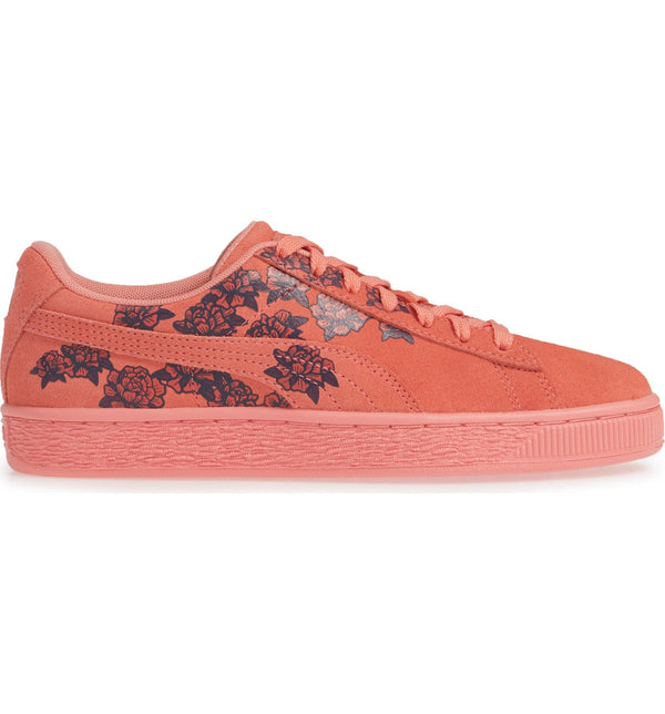 new style 4fa68 82e24 Womens Puma Suede Tol Graphic Sneaker In Shell Pink