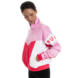 Womens Puma Xtg 94 Track Jacket In Hibiscus