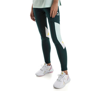 Womens Puma Xtg Cross Training Tights Leggings In Ponderosa Pine