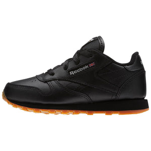 Infant Kids Reebok Classic Leather Sneaker In Black Gum