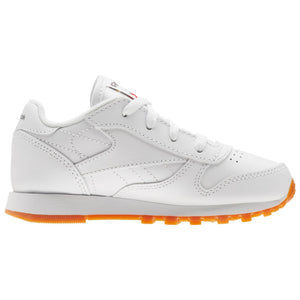Infant Kids Reebok Classic Leather Sneaker In White Gum