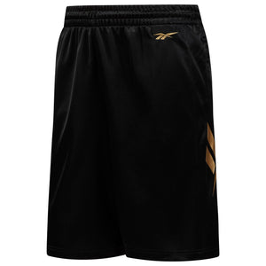 Mens Reebok Iverson I3 Classics Vector Legacy Basketball Shorts In Black - Simons Sportswear