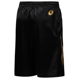 Mens Reebok Iverson I3 Classics Vector Legacy Basketball Shorts In Black