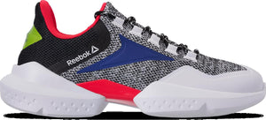 Mens Reebok Split Fuel Sneaker In White Black Red