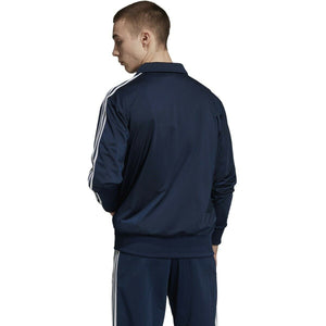NEW MEN/'S ADIDAS ORIGINALS DV1513 SST TRACK JACKET OPEN BLUE WHITE