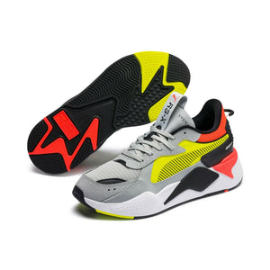 Mens Puma Rs-X Hard Drive Sneaker (High Rise/ Yellow Alert) - Simons Sportswear