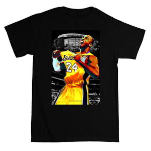 Men's RMax Kobe the GOAT Tee (Black) - Simons Sportswear