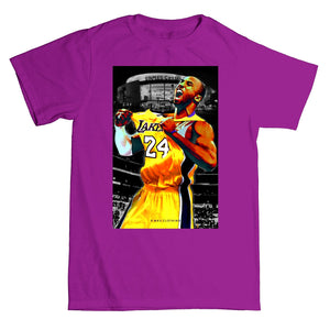 Men's RMax Kobe the GOAT Tee (Purple) - Simons Sportswear