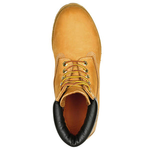 Mens Timberland 6-Inch Premium Waterproof Boots Timbs In Wheat Nubuck