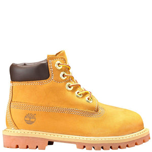 Toddler Kids Timberland 6-Inch Premium Waterproof Boots Timbs In Wheat Nubuck