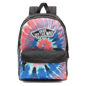Bag Vans Realm Tie Dye Backpack In Tie Dye - Simons Sportswear