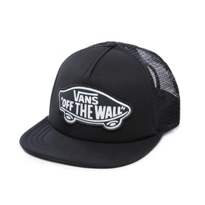 Vans Beach Girl Trucker Hat In Onyx White - Simons Sportswear