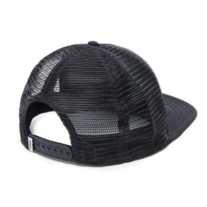 Vans Beach Girl Trucker Hat In Onyx White