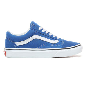 Big Kids Vans Old Skool Skate Shoe In Lapis Blue - Simons Sportswear