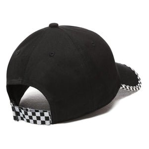 Vans Check It Checkerboard Hat In Black
