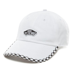 Vans Check It Checkerboard Hat In White