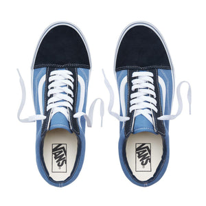 Mens Vans Old Skool Skate Shoe In Navy - Simons Sportswear