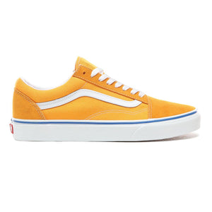 Mens Vans Old Skool Skate Shoe In Zinnia Orange True White