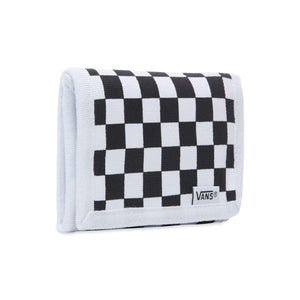 Vans Slipped Checkerboard Wallet In Black White