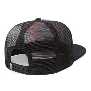 Vans Spring Break Trucker Hat In Tie Dye - Simons Sportswear