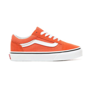 Toddler Kids Vans Old Skool Skate Shoe In Koi True White
