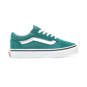 Toddler Kids Vans Old Skool Skate Shoe In Quetzal Green