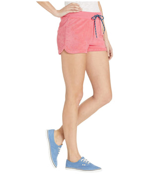 Womens Vans Breezy Shorts In Strawberry Pink - Simons Sportswear