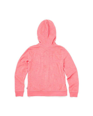 Womens Vans Breezy Zip Sweatshirt Hoodie In Strawberry Pink - Simons Sportswear