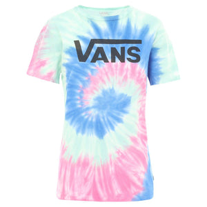 Womens Vans Dye Job Tee Shirt In Tie Dye