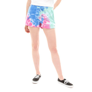 Womens Vans Dye Job Shorts In Tie Dye - Simons Sportswear