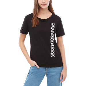 Womens Vans Funday Basic Tee Shirt In Black