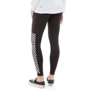 Womens Vans Funday Tights Leggings In Black - Simons Sportswear