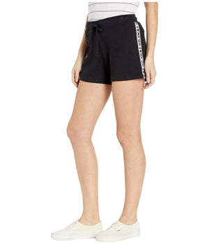 Womens Vans Heart My Vans Shorts In Black - Simons Sportswear