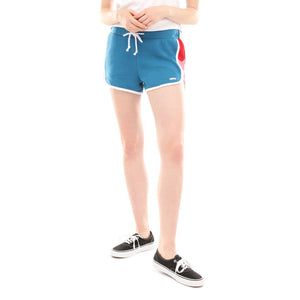 Womens Vans Inverce Shorts In Blue Sapphire - Simons Sportswear