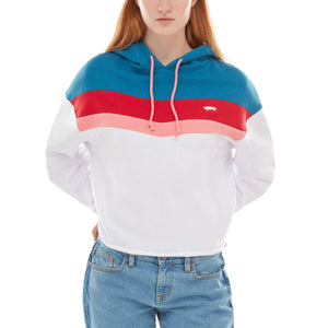 Womens Vans Inverse Pullover Hoodie In Blue Sapphire - Simons Sportswear
