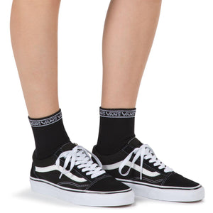 Womens Vans Low Tide Single Pair Socks In Black