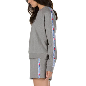 Womens Vans My Vans Crew Pullover Sweatpants In Heather Grey - Simons Sportswear