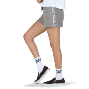 Womens Vans My Vans Shorts In Heather Grey - Simons Sportswear