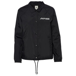 Womens Vans Thanks Coaches Jacket In Black