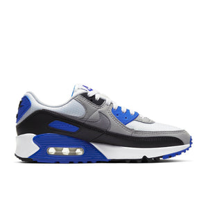 Women's Nike Air Max 90 Recraft in Royal/ White - Simons Sportswear