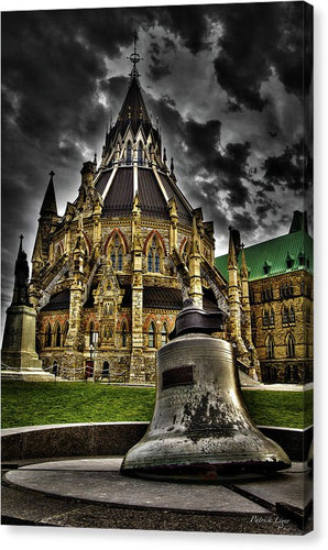 Library Bell - Canvas Print